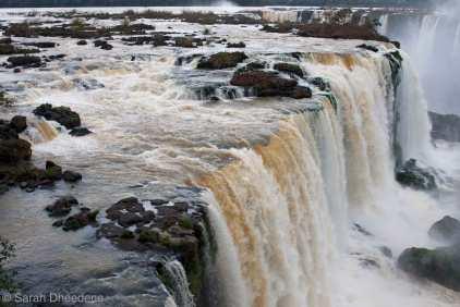 Iguazú falls - Brazilian side